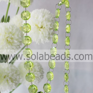 Buiten 10 * 24 * 24 MM Crystal acryl Ring Beading Trim
