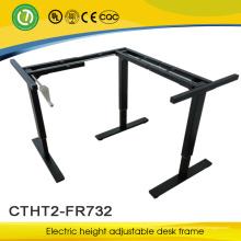 mesa ajustável da escola da altura manual para o quadro de levantamento da mesa da quebra da mão do trabalho