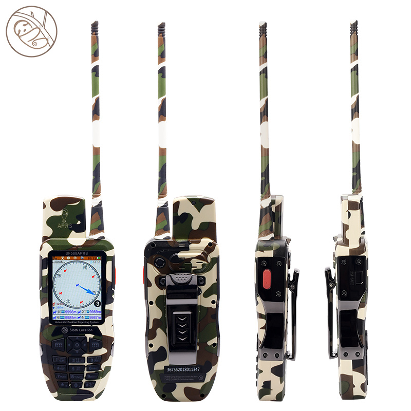 UHF imperméable GPS Locator Interphone