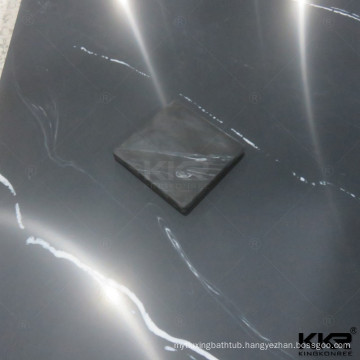 hotel marble artificial stone slab shower wall