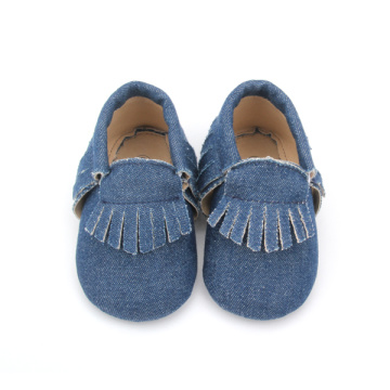 Pattini di bambino mocassini unisex Denim vario