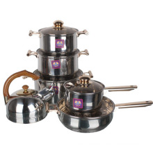 Stainless Steel Butterfly Cooking Pot Set