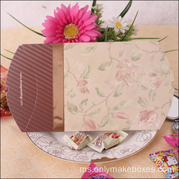 Custom Gloss CMYK Gift Craft Paper Bantal Box