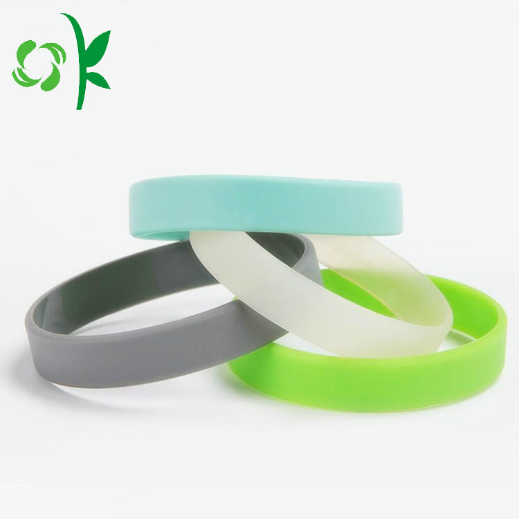 Glow In The Dark Silicone Wristbands