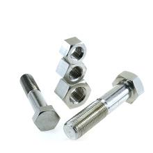 DIN5782 DIN931 half  thread hex bolt  stainless steel  hex bolt M6M8M10M12M16M20