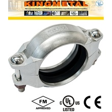 Stainless Steel 304/316 Satinary Grooved Ends Coupling Fittings
