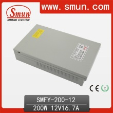 200W 12VDC 16.7A Rainproof Switching Power Supply IP40 with 2 Years Warranty