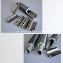 Tubo de aleta de aluminio extruido tipo G de alta frecuencia