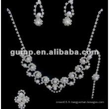 Dernier ensemble de bijoux de mariée (GWJ12-543)
