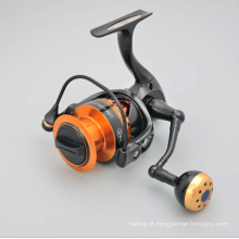 Carretel de pesca de liga de alumínio Spinning Reel 9 + 1bb Fishing Reel