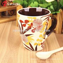 Nueva taza de cerámica de China de hueso de tazas