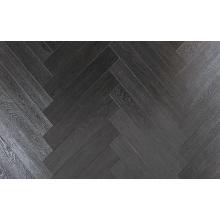 Plancher de stratifié tressé de teck de Waxe3d de relief de ménage de 12.3mm HDF AC4