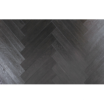 Household 12.3mm HDF AC4 Embossed Teak Waxe3d Edged Laminate Floor