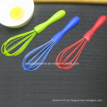 Batedor de ovo de silicone colorido personalizado