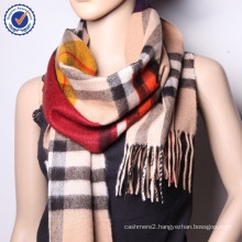 2015 New Arrival scarf women cashmere scarf Checked cashmere scarf winter warm shawls SWC841