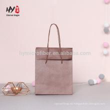 bolsa de papel marrón elegante de alta calidad