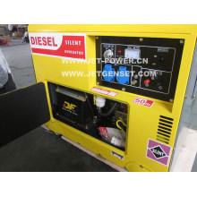 Gerador diesel da fase monofásica 7kVA