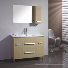 Vanité de salle de bain en mélamine avec bonne qualité (SW-PB162)