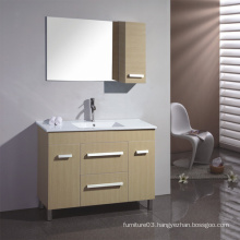 Melamine Surface Bathroom Vanity with Good Quality (SW-PB162)
