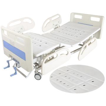 2 cranks manual asjustable hopsital bed equipment