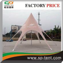 Expositions marketing style étoile Tentes avec logo marqué sur le tissu de la tente