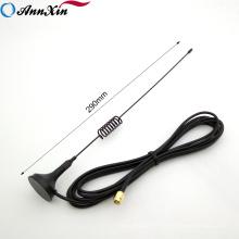 Antena dual del tornillo de WiFi de las bandas del precio bajo 2.4G 5GHz de la calidad superior con el cable magnético de la base SMA 3M