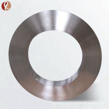 Precio de fábrica Gr5 Ti6Al4V anillo de forja de titanio