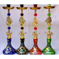 Four pipes of hookah
