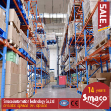 ISO Automated Pallet Racking Systems ASRS, High Density Heavy Duty Cantilever Racking