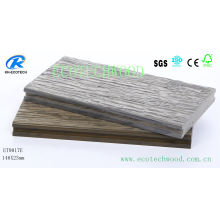 Premium Embossed WPC Decking with Fsc, Ce, ISO9001, ISO14001