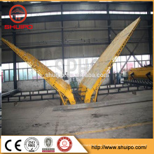Stahlplatte, die Maschine für die Herstellung des drehenden Rotators des Behälters / der Stahlplatte / Tankfertigungsstraße umdreht