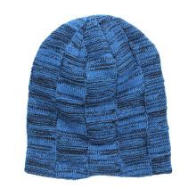 Atacado Feito Sob Encomenda de Alta Qualidade Barato Knited Cap / OEM inverno Malha Beanie Caps Chapéus