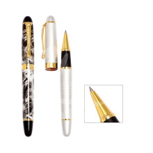 Fancy Christmas Gift Acryic Material Roller Ball Pen para invitados