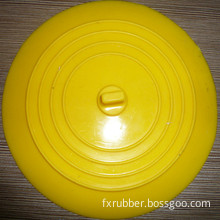 Round Flat Silicone Rubber Sink Plug Stopper