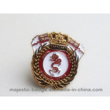 Customized Lovely Gold Plating Dragon Cuff Link