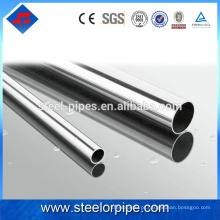 Loja on-line china parede dupla tubo de aço inoxidável
