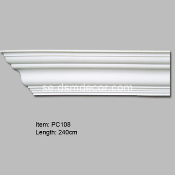 Populära Dekorativa Plain Crown Mouldings