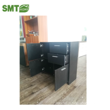 черный боковой шкаф / шкаф для хранения обуви дуб с хорошим качеством