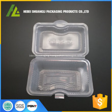 clear plastic food disposable container
