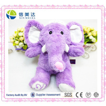 Lavender Purple Kawaii Elephant Plush Soft Toy