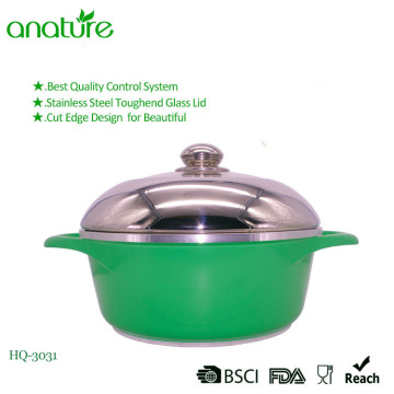 Acero inoxidable Die Casting Kitchen Cookware Sauce Pot