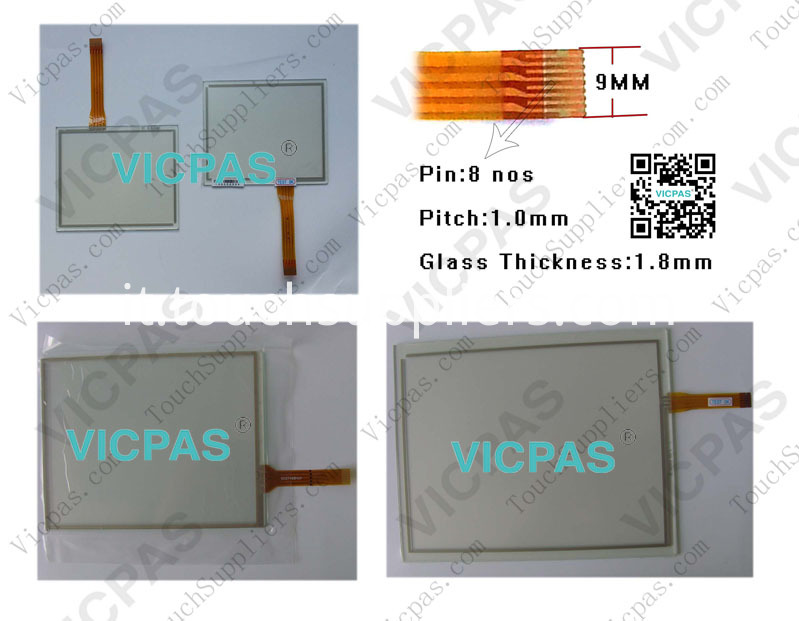 Touch screen panel for AST3201-A1-D24 touch panel membrane touch sensor glass replacement repair