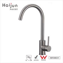 Haijun Wholesale Prices cUpc 0.1~1.6MPa Single Hole Stainless Steel Kitchen Faucet