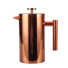 Prasa francuska Copper Pretty Professional Double Wall