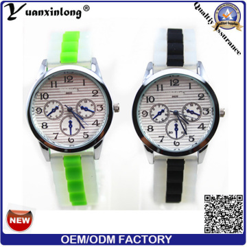 Yxl-195 Wholesale Cheapest Silicone Watches Unisex Men Women Gift Watch Sport Casual Silicon Watches Factory