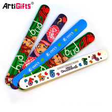 china professional sale cheap make silicone rubber slap snap bracelet