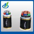 PVC Sheathed Unarmoured Multi-core Electric Cable 0.6/1KV