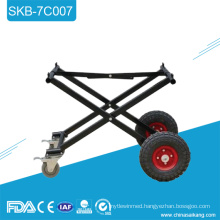 SKB-7C007 Foldable Funeral Aluminum Alloy Church Trolley For Coffin