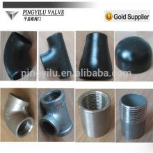 2015 nuevos productos soldadura de acero al carbono soldadura tubo tee montaje