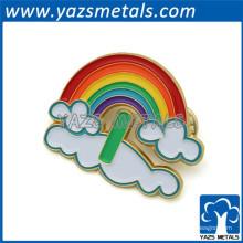 Emblema promocional de esmalte de lembrança de metal
